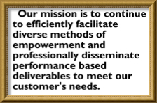 Bad mission statement