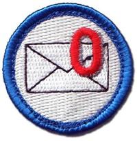 Email merit badge