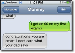 Mommy text