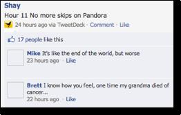 Facebook empathy