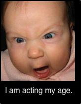 Acting my age