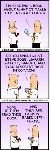 Dilbert leadership