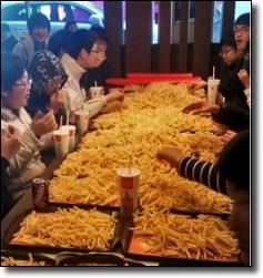 Lotsa fries