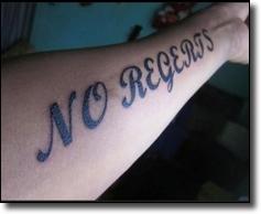 No regerts