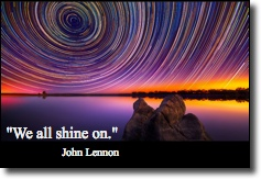 We all shine on