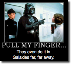 Star wars finger
