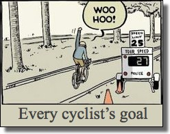 Every cyclist does this