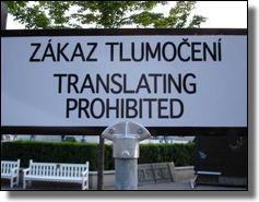 Translatting forbidden