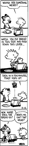 Calvin Hobbes Toast