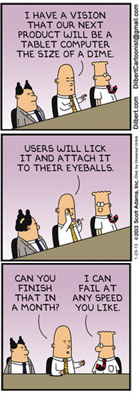 Dilbert fail fast