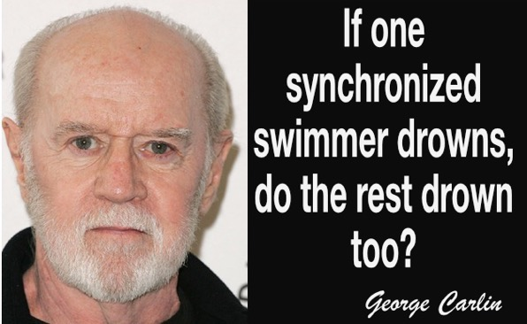 Synchronized swimmer