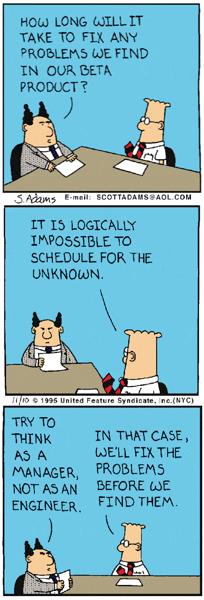 Dilbert bugs
